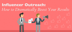 social media/influencer outreach