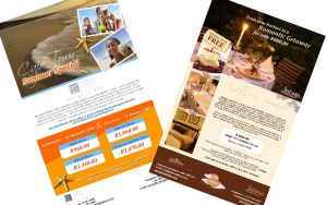 direct bookings/mailers