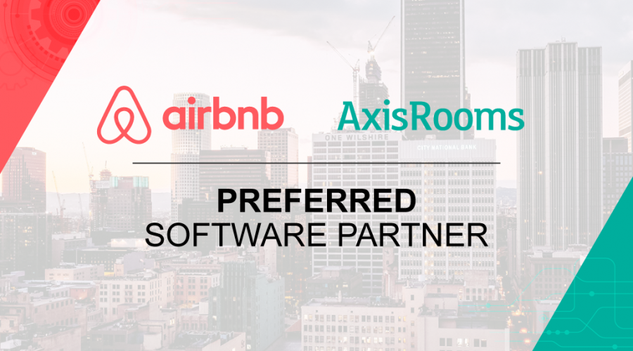 AxisRooms becomes the preferred software partner of Airbnb
